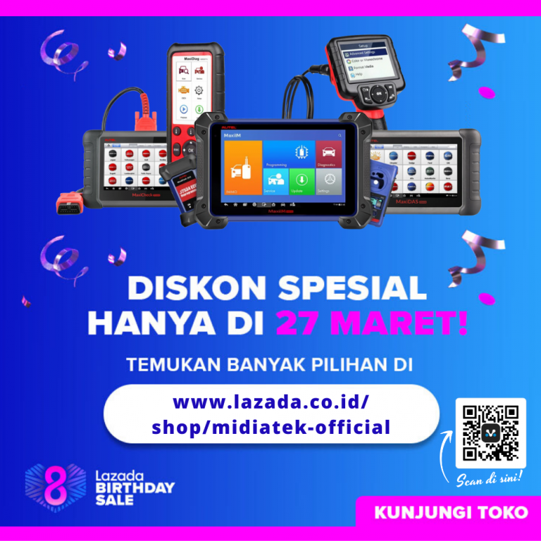 DISCOUNT Di LAZADA Birthday Sale!